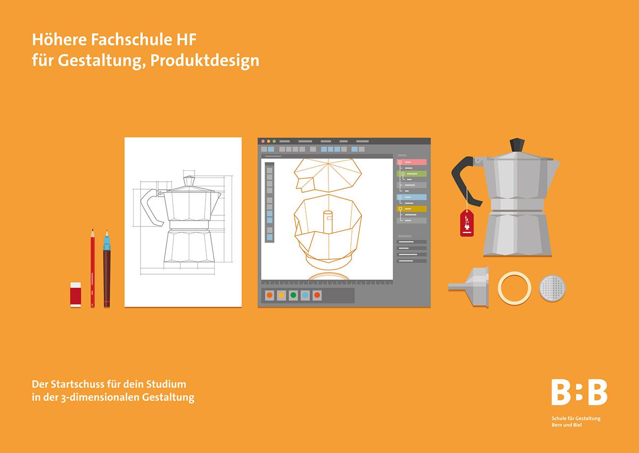 SfGB-B Grafikdesign Postkarte HF Produktdesign