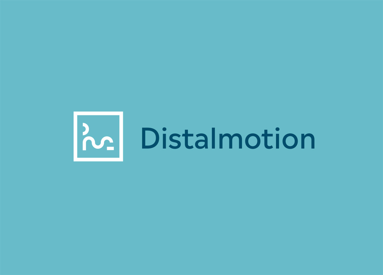 Distalmotion Branding Logo