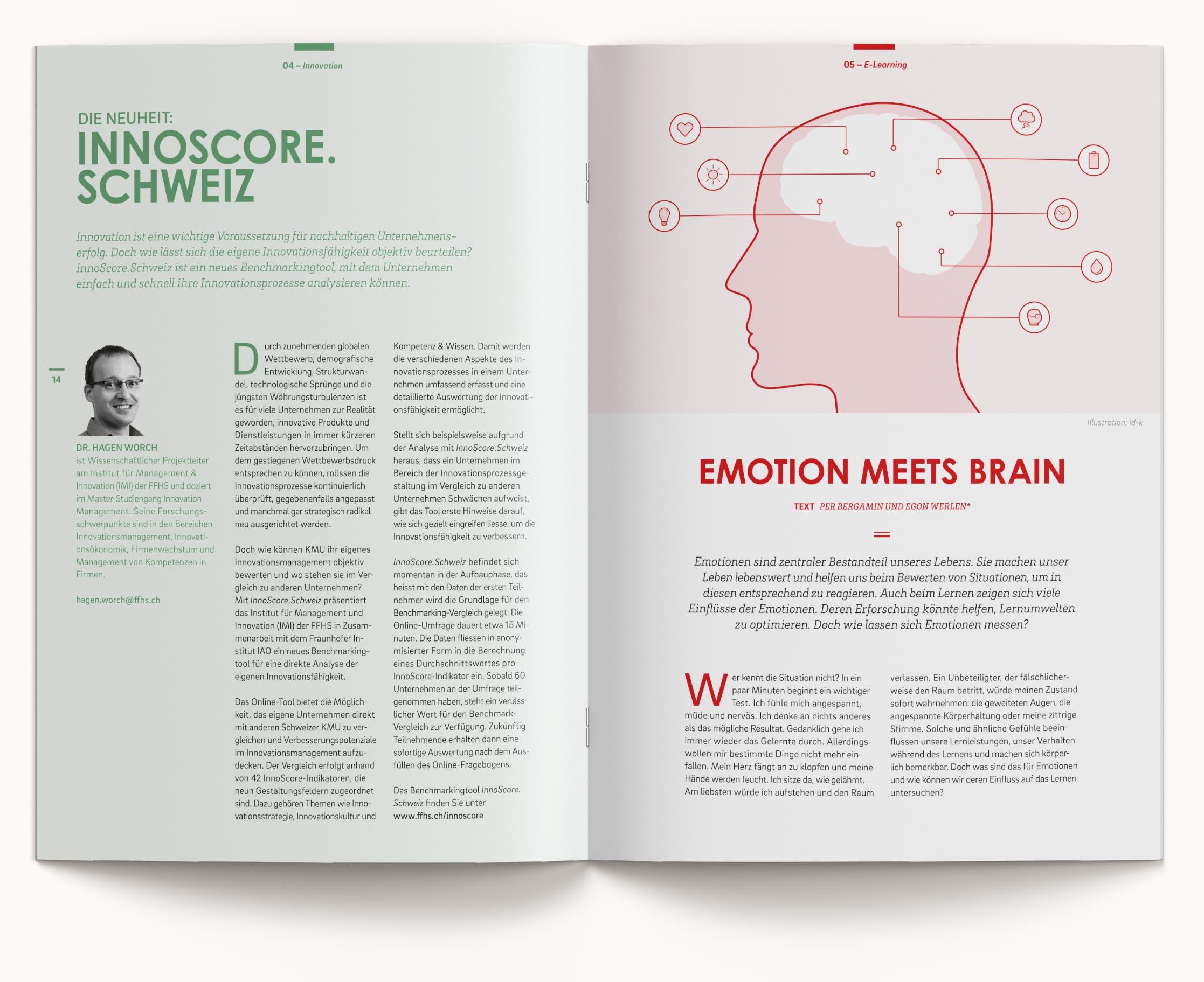 FFHS Grafikdesign Cloud Magazin Artikel Innovation E-Learning