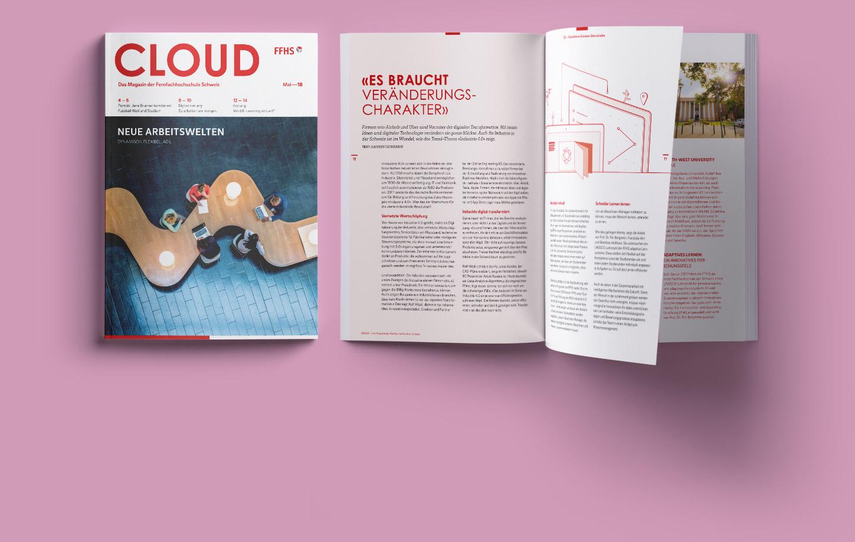 FFHS Grafikdesign Cloud Magazin