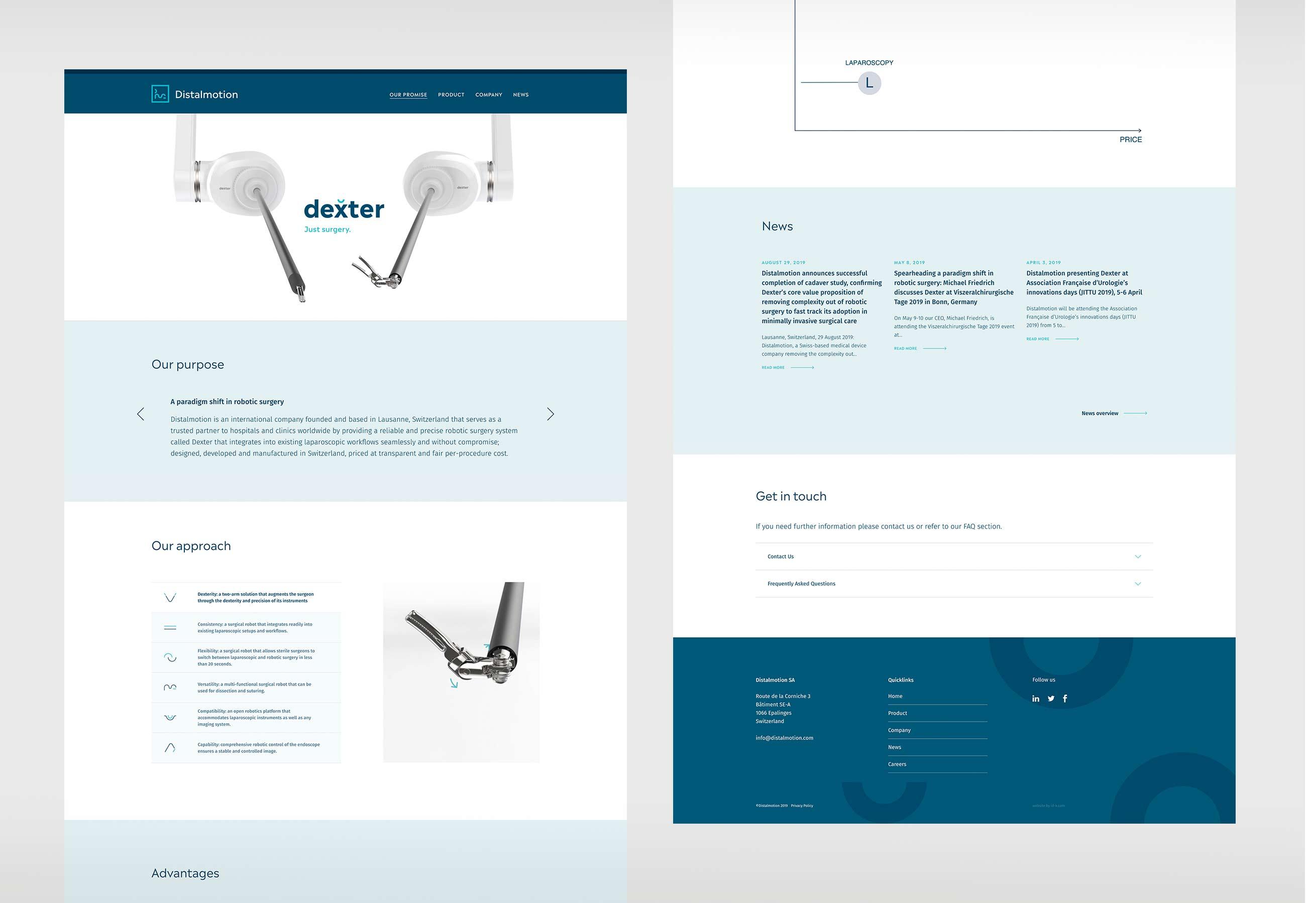 Distalmotion Digital Website Home Desktop