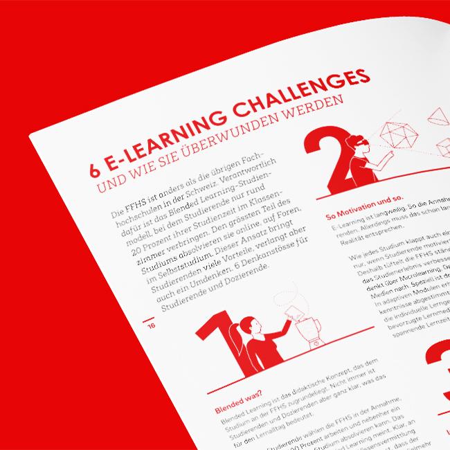 FFHS Grafikdesign Cloud Artikel E-Learning Challenges