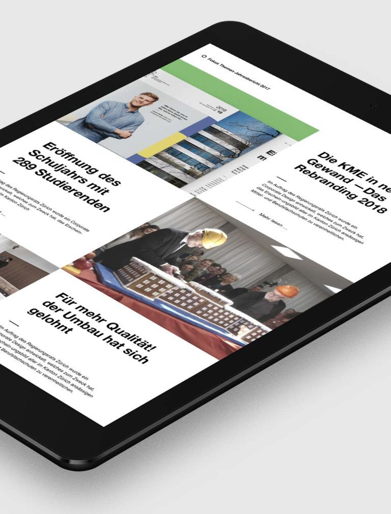KME Digital Jahresbericht Vorschaubild