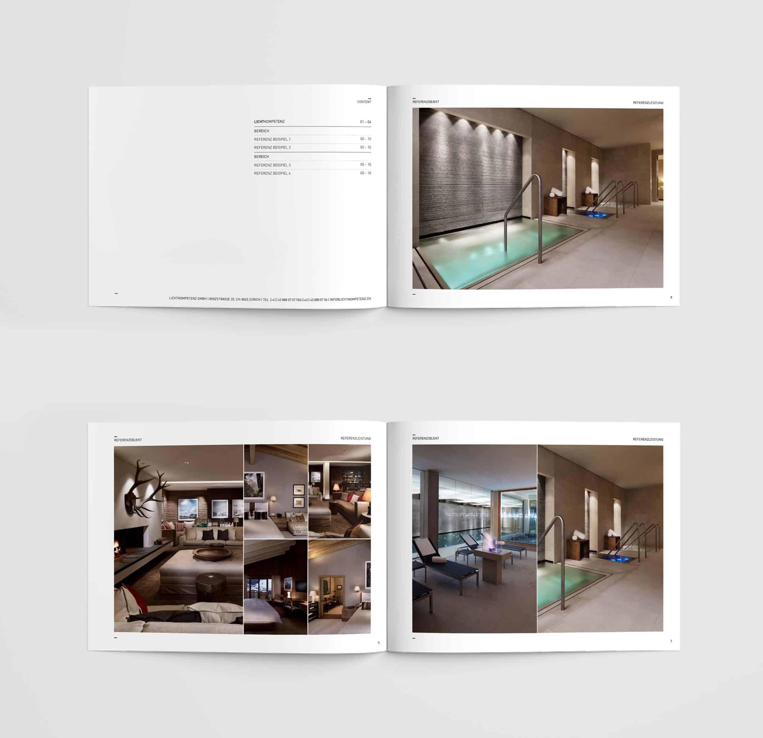 Lichtkompetenz Branding Broschuere